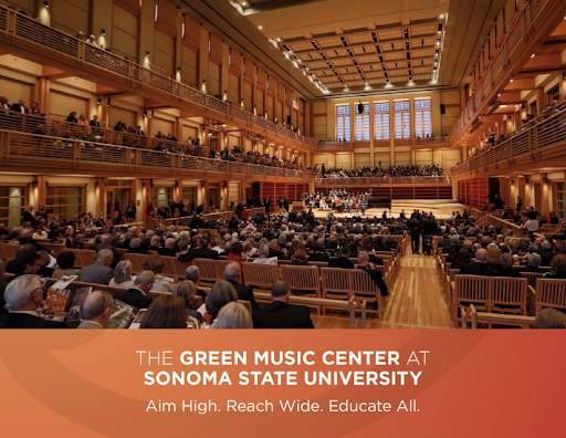 Audience seated in the Green Music Center