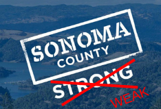 Sonoma County Strong - Weak