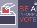 Be an informed voter