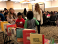 The students were able to choose from 150 books.