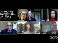 Screenshot from the Facebook Live panel on #BlackLivesMatter
