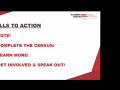 Closing slide of call to action