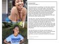 Joy Ayodele (top left), Alexandria Anderson (bottom left), and Joy Ayodele's Instagram Post