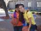 Kinesiology student Emily Giorgi and Analyssa Munoz
